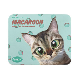 Rini's Macaroon New Patterns Mouse Pad