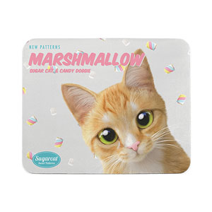 Roy the Cheese Tabby's Marshmallow New Patterns Mouse Pad