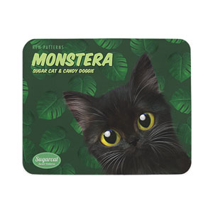 Ruru's Monstera New Patterns Mouse Pad