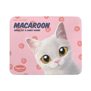 Santo's Macaroon New Patterns Mouse Pad