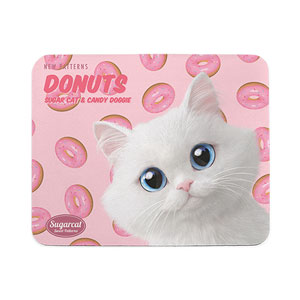 Soondooboo's Donuts New Patterns Mouse Pad