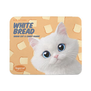 Soondooboo's White Bread New Patterns Mouse Pad