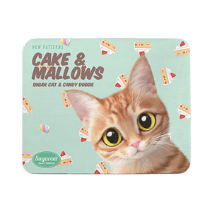 Ssol's Cake & Mallows New Patterns Mouse Pad