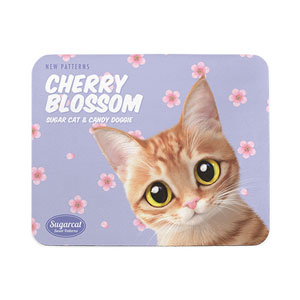 Ssol's Cherry Blossom New Patterns Mouse Pad