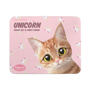 Ssol's Unicorn New Patterns Mouse Pad