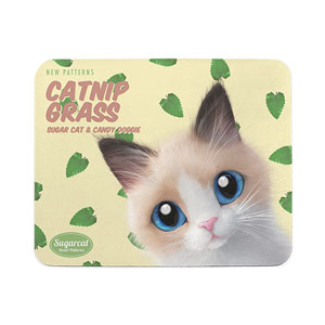 Ttui's Catnip Grass New Patterns Mouse Pad