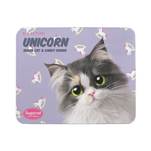 Zzing's Unicorn New Patterns Mouse Pad