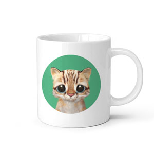 Leo the Leopard cat Mug