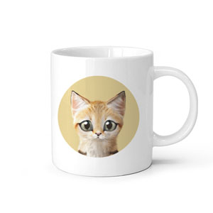 Sandy the Sand cat Mug