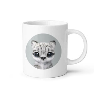 Yungki the Snow Leopard Mug