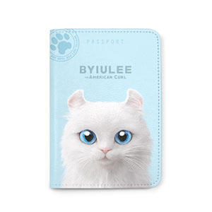 Byiulee the American Curl Passport Case
