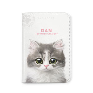 Dan the Kitten Passport Case