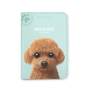 Hodoo the Poodle Passport Case