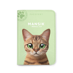 Mansik Passport Case