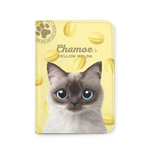 Chamoe's Yellow Melon Passport Case