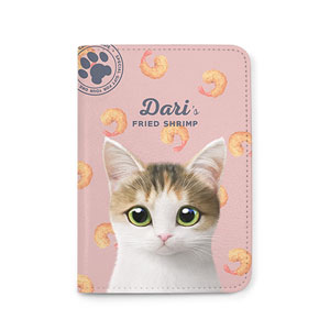 Dari's Fried Shrimp Passport Case