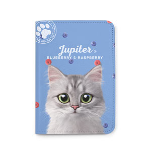 Jupiter's Blueberry & Raspberry Passport Case