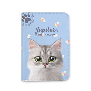 Jupiter's Marshmallow Passport Case