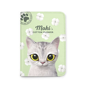Moki's Cotton Flower Passport Case