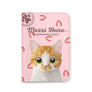 Mozzi Hana's Strawberry Mozzi Passport Case