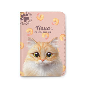 Nova's Fried Shrimp Passport Case