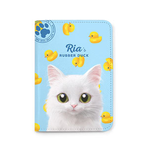 Ria's Rubber Duck Passport Case