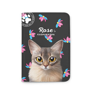 Rose's Kasha Kasha Passport Case