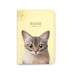 Rose Passport Case