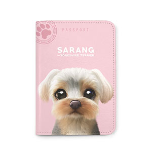 Sarang the Yorkshire Terrier Passport Case