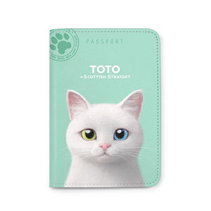 Toto the Scottish Straight Passport Case