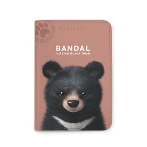 Bandal the Aisan Black Bear Passport Case