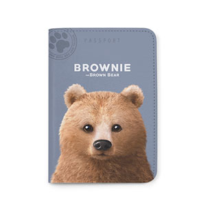 Brownie the Bear Passport Case