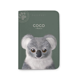 Coco the Koala Passport Case