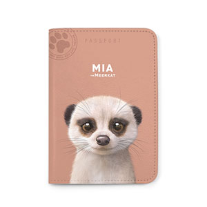 Mia the Meerkat Passport Case
