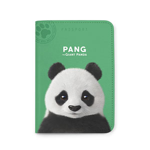 Pang the Giant Panda Passport Case