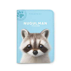 Nugulman the Raccoon Passport Case