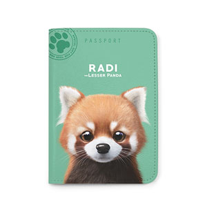 Radi the Lesser Panda Passport Case