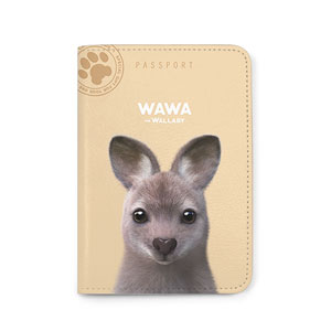 Wawa the Wallaby Passport Case