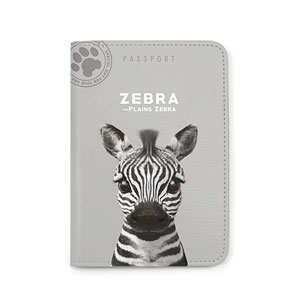 Zebra the Plains Zebra Passport Case