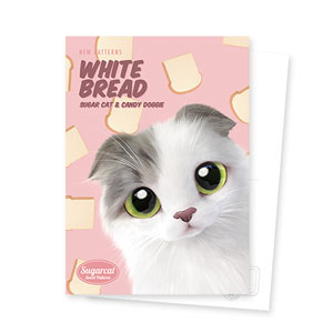 Duna's White Bread New Patterns Postcard