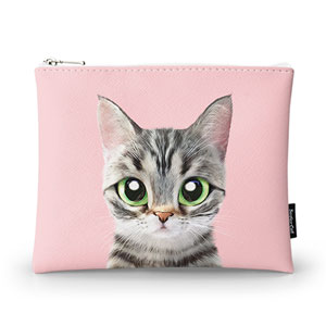 Momo the American shorthair cat Pouch