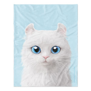 Byiulee the American Curl Soft Blanket