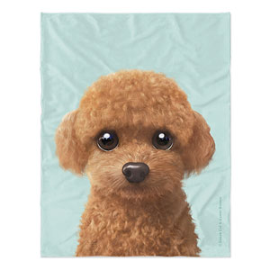 Hodoo the Poodle Soft Blanket