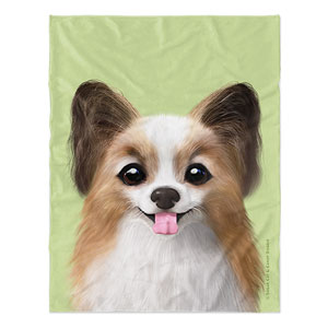 Jerry the Papillon Soft Blanket