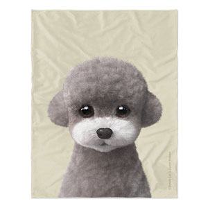 Earlgray the Poodle Soft Blanket