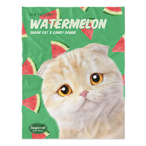 Achi's Watermelon New Patterns Soft Blanket