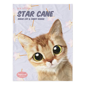 Byeol's Star Cane New Patterns Soft Blanket