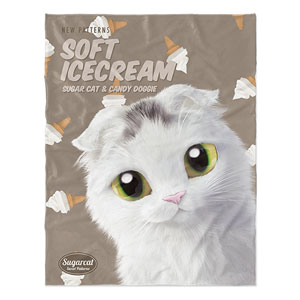 Byeoli's Soft Icecream New Patterns Soft Blanket