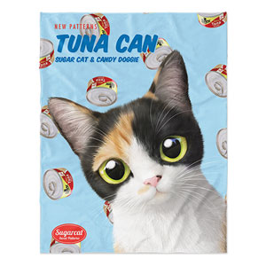 Chamchi's Tuna Can New Patterns Soft Blanket