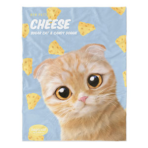 Cheddar's Cheese New Patterns Soft Blanket